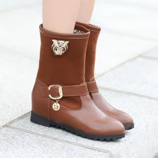 韩版冬季保暖短靴新款内增高女靴/YN/D83/P6685