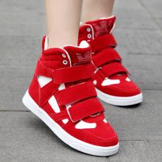 秋季开学学生鞋欧美旅游鞋魔术贴厚底懒人鞋平底鞋RB/0066/P1672