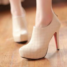 欧美T台秋款女鞋时尚性感超高跟深口单鞋/XL/CP5-2/P1669