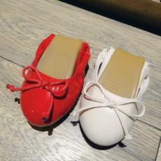 蝴蝶结糖果鞋蛋卷女鞋猪皮内里豆豆鞋DJX/306/P1818