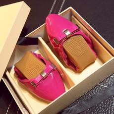 通勤蝴蝶结软底女鞋蛋卷鞋礼盒鞋MZR/7-5/P1823