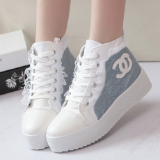 秋季韩版学院派女鞋学生鞋平底甜美松糕鞋板鞋/MYB/802/P1676